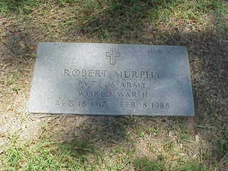 MURPHY (VETERAN WWII), ROBERT - Pulaski County, Arkansas   ROBERT MURPHY (VETERAN WWII) - Arkansas Gravestone Photos