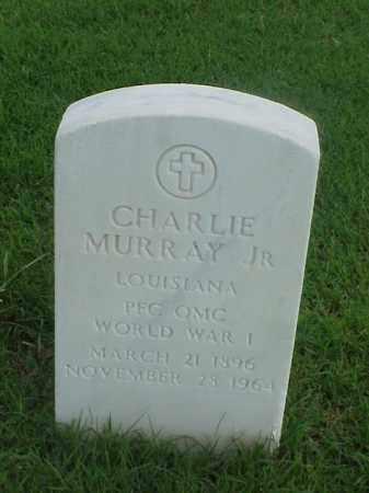 MURRAY, JR (VETERAN WWI), CHARLIE - Pulaski County, Arkansas   CHARLIE MURRAY, JR (VETERAN WWI) - Arkansas Gravestone Photos