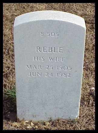 MURRAY, REBLE - Pulaski County, Arkansas | REBLE MURRAY - Arkansas Gravestone Photos