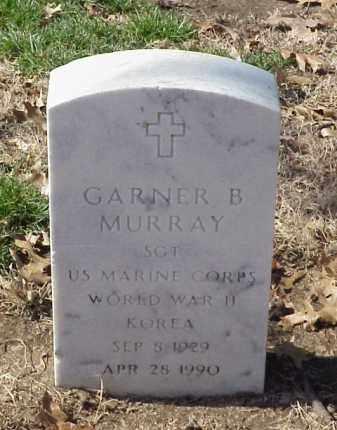 MURRAY (VETERAN 2 WARS), GARNER B - Pulaski County, Arkansas   GARNER B MURRAY (VETERAN 2 WARS) - Arkansas Gravestone Photos