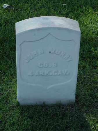MURRY (VETERAN UNION), JOHN - Pulaski County, Arkansas | JOHN MURRY (VETERAN UNION) - Arkansas Gravestone Photos