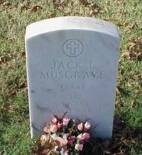 MUSGRAVE (VETERAN 3 WARS), JACK L - Pulaski County, Arkansas   JACK L MUSGRAVE (VETERAN 3 WARS) - Arkansas Gravestone Photos