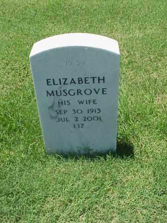 "MUSGROVE, ELIZABETH ""LIZ"" - Pulaski County, Arkansas | ELIZABETH ""LIZ"" MUSGROVE - Arkansas Gravestone Photos"