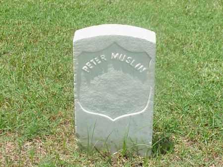 MUSLIN (VETERAN UNION), PETER - Pulaski County, Arkansas | PETER MUSLIN (VETERAN UNION) - Arkansas Gravestone Photos