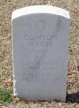 MYERS  (VETERAN WWI), CLINTON - Pulaski County, Arkansas | CLINTON MYERS  (VETERAN WWI) - Arkansas Gravestone Photos
