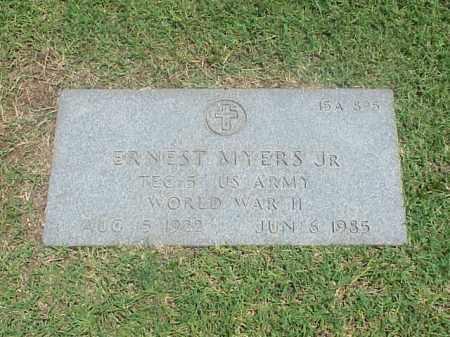 MYERS, JR (VETERAN WWII), ERNEST - Pulaski County, Arkansas | ERNEST MYERS, JR (VETERAN WWII) - Arkansas Gravestone Photos