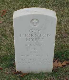 MYERS (VETERAN WWII), GUY THORNTON - Pulaski County, Arkansas | GUY THORNTON MYERS (VETERAN WWII) - Arkansas Gravestone Photos