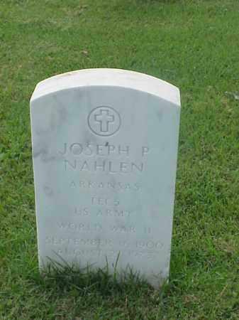 NAHLEN (VETERAN WWII), JOSEPH P - Pulaski County, Arkansas   JOSEPH P NAHLEN (VETERAN WWII) - Arkansas Gravestone Photos