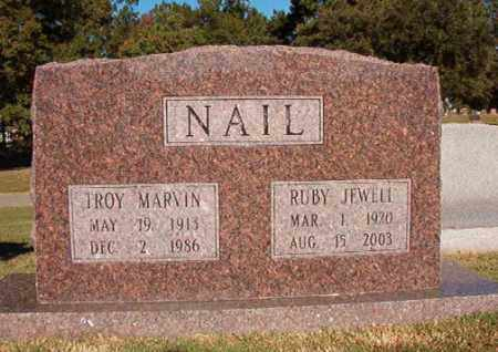 NAIL, TROY MARVIN - Pulaski County, Arkansas | TROY MARVIN NAIL - Arkansas Gravestone Photos