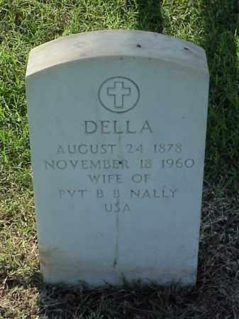 NALLY, DELLA - Pulaski County, Arkansas | DELLA NALLY - Arkansas Gravestone Photos