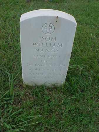 NANCE (VETERAN WWII), ISOM WILLIAM - Pulaski County, Arkansas   ISOM WILLIAM NANCE (VETERAN WWII) - Arkansas Gravestone Photos
