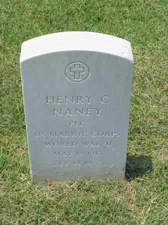 NANEY (VETERAN WWII), HENRY C - Pulaski County, Arkansas | HENRY C NANEY (VETERAN WWII) - Arkansas Gravestone Photos