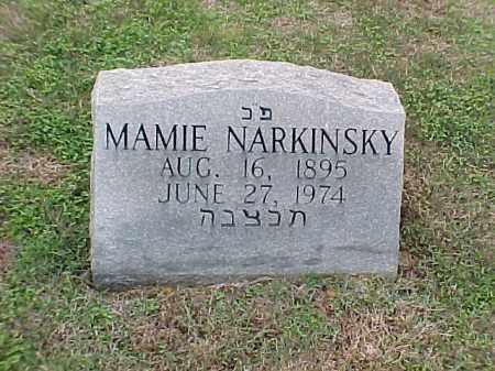 NARKINSKY, MAMIE - Pulaski County, Arkansas | MAMIE NARKINSKY - Arkansas Gravestone Photos