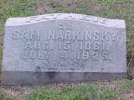 NARKINSKY, SAM - Pulaski County, Arkansas | SAM NARKINSKY - Arkansas Gravestone Photos