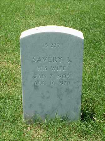 NASH, SAVERY L - Pulaski County, Arkansas | SAVERY L NASH - Arkansas Gravestone Photos