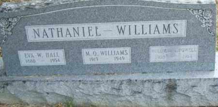 HALL NATHANIEL, EVA W. - Pulaski County, Arkansas | EVA W. HALL NATHANIEL - Arkansas Gravestone Photos