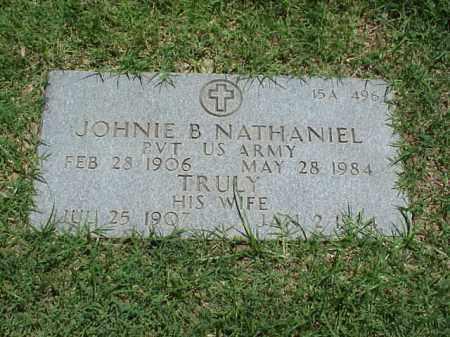 NATHANIEL (VETERAN WWII), JOHNIE B - Pulaski County, Arkansas   JOHNIE B NATHANIEL (VETERAN WWII) - Arkansas Gravestone Photos