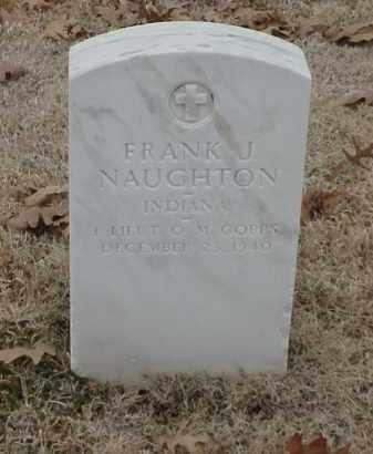 NAUGHTON  (VETERAN WWI), FRANK J - Pulaski County, Arkansas | FRANK J NAUGHTON  (VETERAN WWI) - Arkansas Gravestone Photos
