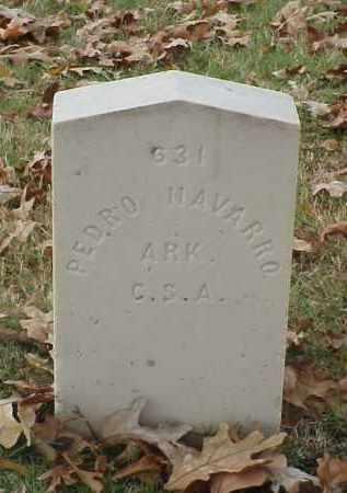 NAVARRO (VETERAN CSA), PEDRO - Pulaski County, Arkansas   PEDRO NAVARRO (VETERAN CSA) - Arkansas Gravestone Photos
