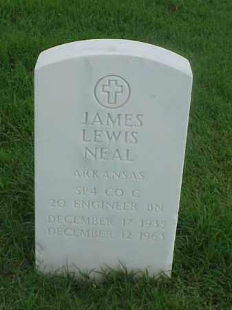 NEAL (VETERAN), JAMES LEWIS - Pulaski County, Arkansas | JAMES LEWIS NEAL (VETERAN) - Arkansas Gravestone Photos