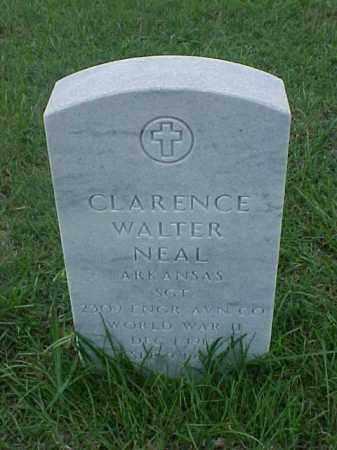 NEAL (VETERAN WWII), CLARENCE WALTER - Pulaski County, Arkansas | CLARENCE WALTER NEAL (VETERAN WWII) - Arkansas Gravestone Photos