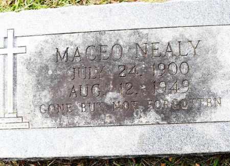 NEALY, MACEO - Pulaski County, Arkansas | MACEO NEALY - Arkansas Gravestone Photos