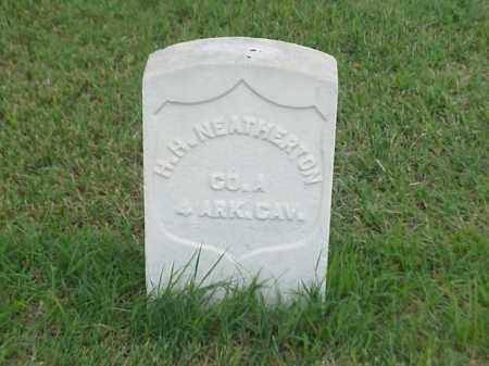 NEATHERTON (VETERAN UNION), H H - Pulaski County, Arkansas   H H NEATHERTON (VETERAN UNION) - Arkansas Gravestone Photos