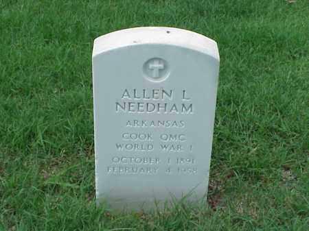 NEEDHAM (VETERAN), ALLEN L - Pulaski County, Arkansas | ALLEN L NEEDHAM (VETERAN) - Arkansas Gravestone Photos