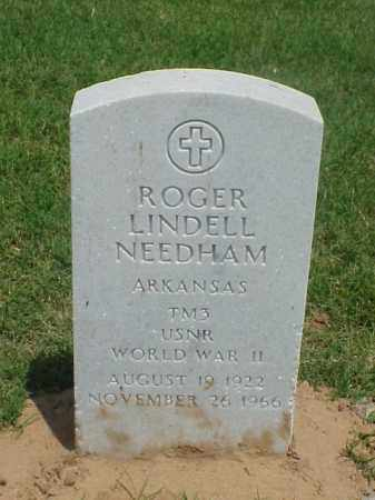 NEEDHAM (VETERAN WWII), ROGER LINDELL - Pulaski County, Arkansas | ROGER LINDELL NEEDHAM (VETERAN WWII) - Arkansas Gravestone Photos