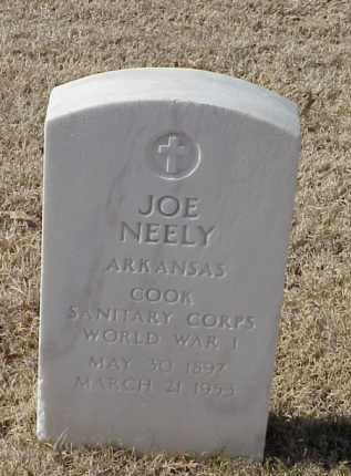 NEELY (VETERAN WWI), JOE - Pulaski County, Arkansas | JOE NEELY (VETERAN WWI) - Arkansas Gravestone Photos