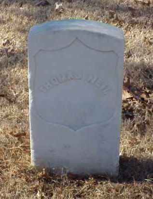 NEIL (VETERAN UNION), THOMAS - Pulaski County, Arkansas | THOMAS NEIL (VETERAN UNION) - Arkansas Gravestone Photos