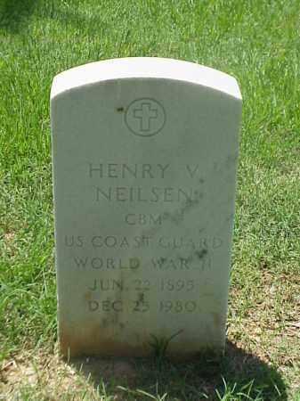 NEILSEN (VETERAN WWII), HENRY V - Pulaski County, Arkansas   HENRY V NEILSEN (VETERAN WWII) - Arkansas Gravestone Photos