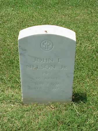 NELSON, JR (VETERAN WWII), JOHN E - Pulaski County, Arkansas | JOHN E NELSON, JR (VETERAN WWII) - Arkansas Gravestone Photos