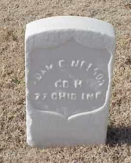 NELSON (VETERAN UNION), ADAM C - Pulaski County, Arkansas   ADAM C NELSON (VETERAN UNION) - Arkansas Gravestone Photos