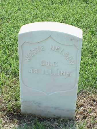 NELSON (VETERAN UNION), WESTE - Pulaski County, Arkansas   WESTE NELSON (VETERAN UNION) - Arkansas Gravestone Photos