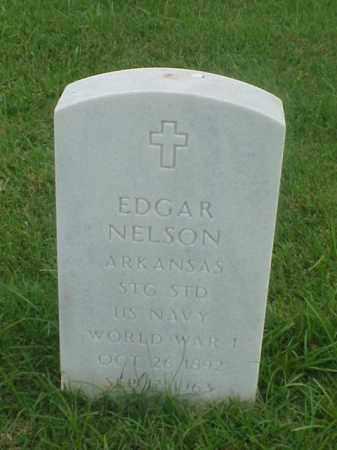 NELSON (VETERAN WWI), EDGAR - Pulaski County, Arkansas   EDGAR NELSON (VETERAN WWI) - Arkansas Gravestone Photos