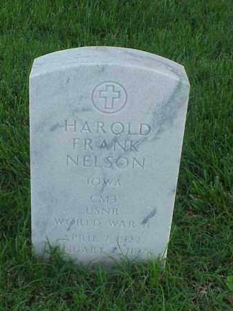 NELSON (VETERAN WWII), HAROLD FRANK - Pulaski County, Arkansas | HAROLD FRANK NELSON (VETERAN WWII) - Arkansas Gravestone Photos