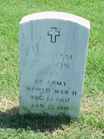NELSON (VETERAN WWII), WILLIAM - Pulaski County, Arkansas | WILLIAM NELSON (VETERAN WWII) - Arkansas Gravestone Photos