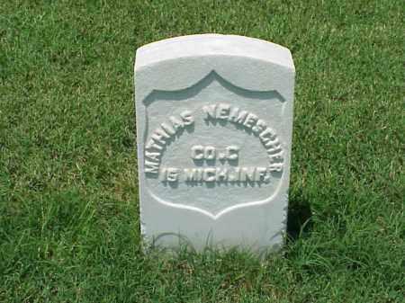 NEMESCHER (VETERAN UNION), MATHIAS - Pulaski County, Arkansas | MATHIAS NEMESCHER (VETERAN UNION) - Arkansas Gravestone Photos
