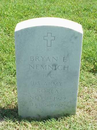 NEMNICH (VETERAN KOR), BRYAN L - Pulaski County, Arkansas | BRYAN L NEMNICH (VETERAN KOR) - Arkansas Gravestone Photos