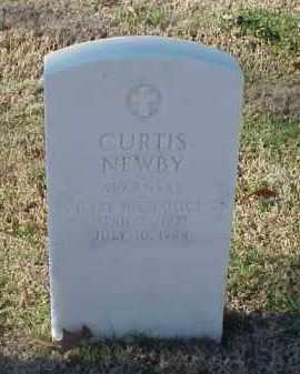 NEWBY (VETERAN WWII), CURTIS - Pulaski County, Arkansas   CURTIS NEWBY (VETERAN WWII) - Arkansas Gravestone Photos