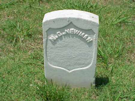 NEWMAN (VETERAN UNION), N G - Pulaski County, Arkansas | N G NEWMAN (VETERAN UNION) - Arkansas Gravestone Photos