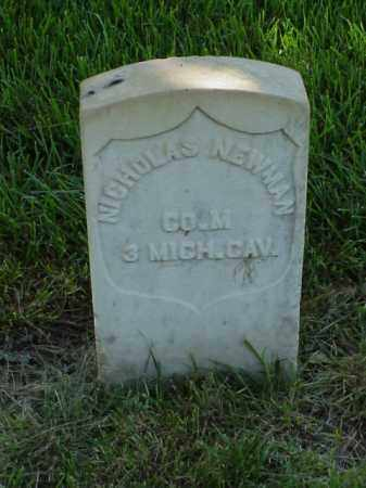 NEWMAN (VETERAN UNION), NICHOLAS - Pulaski County, Arkansas | NICHOLAS NEWMAN (VETERAN UNION) - Arkansas Gravestone Photos