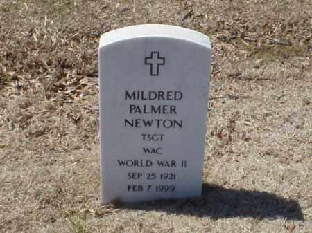 NEWTON  (VETERAN WWII), MILDRED PALMER - Pulaski County, Arkansas | MILDRED PALMER NEWTON  (VETERAN WWII) - Arkansas Gravestone Photos