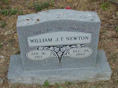 NEWTON, WILLIAM J. T. - Pulaski County, Arkansas | WILLIAM J. T. NEWTON - Arkansas Gravestone Photos