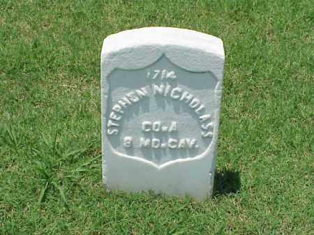 NICHOLASS (VETERAN UNION), STEPHEN - Pulaski County, Arkansas | STEPHEN NICHOLASS (VETERAN UNION) - Arkansas Gravestone Photos