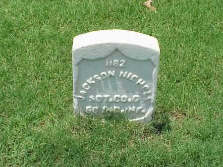 NICHOLS (VETERAN UNION), JACKSON - Pulaski County, Arkansas   JACKSON NICHOLS (VETERAN UNION) - Arkansas Gravestone Photos