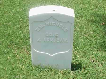 NICHOLS (VETERAN UNION), WILLIAM - Pulaski County, Arkansas   WILLIAM NICHOLS (VETERAN UNION) - Arkansas Gravestone Photos
