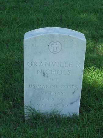 NICHOLS (VETERAN VIET), GRANVILLE R - Pulaski County, Arkansas | GRANVILLE R NICHOLS (VETERAN VIET) - Arkansas Gravestone Photos