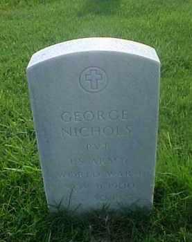 NICHOLS (VETERAN WWI), GEORGE - Pulaski County, Arkansas   GEORGE NICHOLS (VETERAN WWI) - Arkansas Gravestone Photos